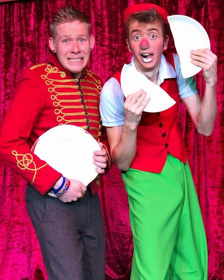 Alex and Robbie need your help to have a smashing time Picture: ALEX MORLEY PRODUCTIONS