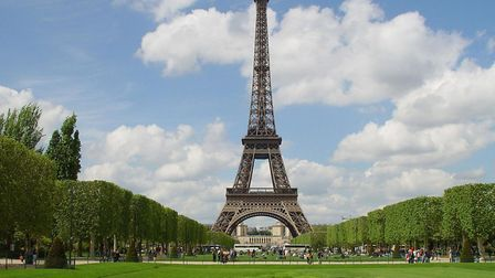 In 2008 Erika married the Eiffel Tower and took its name. Picture: Martin Keene/PA Wire