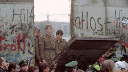 Eija-Riitta Berliner-Mauer married the Berlin Wall before 1989, when it came down reuniting East and