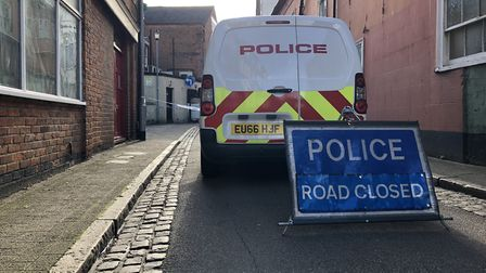 The George Street stabbing was meters from the snooker club, closed for buisness while the police in