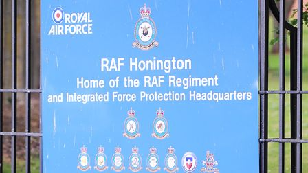 James Sinclair is based at RAF Honington Picture: GREGG BROWN
