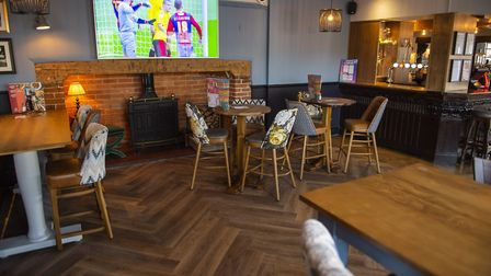 New look Crown pub in Claydon. Picture: Greene King