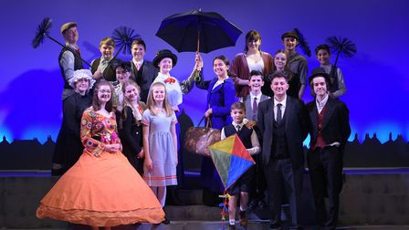 Dress rehearsals are well underway for Thurston Community College production of Disney and Cameron M