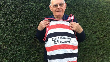 Martin Tilley, who plans to celebrate his 80th birthday at the Bury St Edmunds parkrun this weekend,