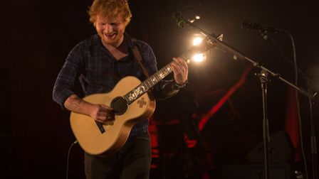 Ed Sheeran is about to start his world tour. Picture: PAUL BAYFIELD.