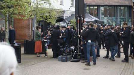 Filming of the new Danny Boyle/Richard Curtis film Picture: SCREEN SUFFOLK