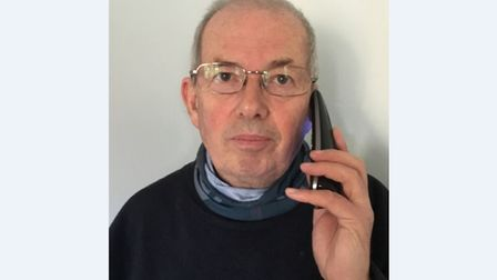 Keith Poulson, 69, who lives near Beccles, has revealed his exasperating two-hour long online chat w