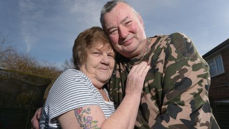 Sylvia Plumb, 72, and Colin Cowley, 60, recently got married after finding each other on a dating we