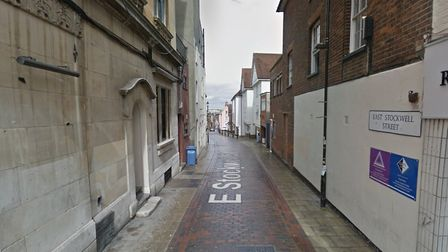 A man has been arrested following reports of an assault in Colchester this morning Picture: GOOGLE M