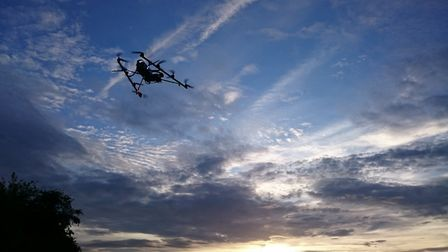 There have been some reports of drones bothering wildlife Picture: Anglian Water