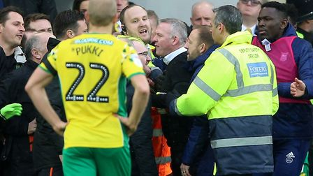 The FA must decide whether the incident is deserving of further action. Picture: PA