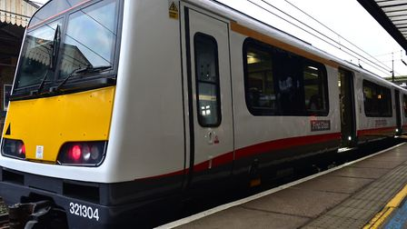 Trains from Ipswich to Felixstowe are affected Picture: SARAH LUCY BROWN