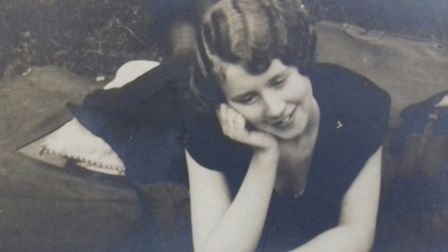 'My grandma Sylvia Wynne in the late 1920s, whose determination and love of life inspired my charact