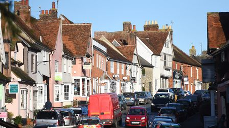 It's not surprising we're drawn to Lavenham, bearing in mind how pretty it is Picture: GREGG