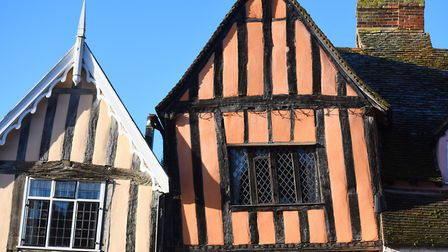 Lavenham on a bright winter's day in 2017 - full of character Picture: GREGG BROWN