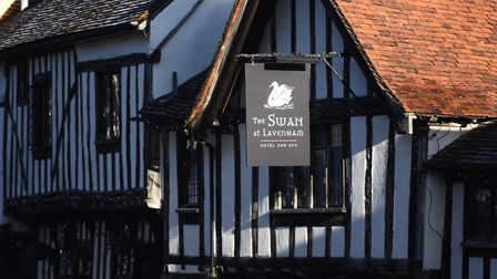 The Swan in Lavenham, the hotel that played a big part in Rachel's story Picture: GREGG BROWN