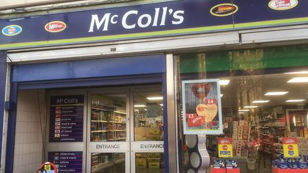 McColl's in Sudbury where the incident happened Picture: ARCHANT