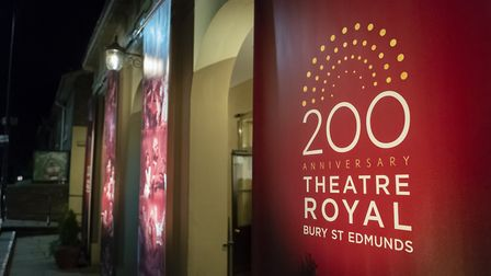 Bury Theatre Royal's 200th birthday celebrations launched this week . Photo: Aaron Weight