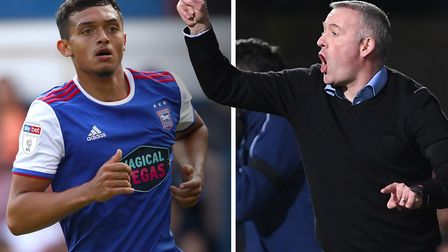 Paul Lambert believes Andre Dozzell has a bright future at Ipswich Town. Picture: PA