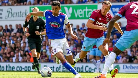 Andre Dozzell is one of the most gifted members of the Ipswich Town squad. Picture: Steve Waller