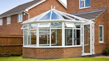 Extensions such as conservatories can add to a home's value. Picture: GETTY IMAGES/ISTOCKPHOTO