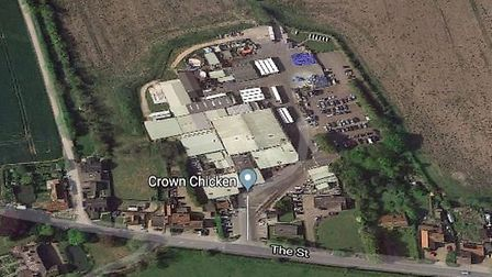 Crown Farm in Weybread, where developers are seeking to build 110 homes Picture: GOOGLE MAPS
