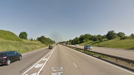 The A12 near Chelmsford. Picture: GOOGLE