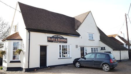 The Hare & Hounds in East Bergholt Picture: RACHEL EDGE