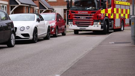 Essex Fire Service has called for more considerate parking Stock picture: ESSEX COUNTY FIRE AND RES