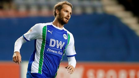 Nick Powell's return from injury is a big boost to Wigan. Picture: PA