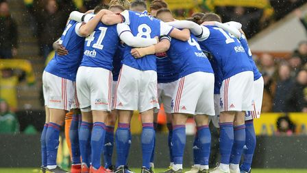 Ipswich Town are battling to beat the drop in the Championship. Picture: PAGEPIX