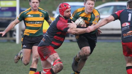 Mark Kohler, who is back in the Bury St Edmunds side to face Worthing Raiders. Picture: SHAWN PEARCE