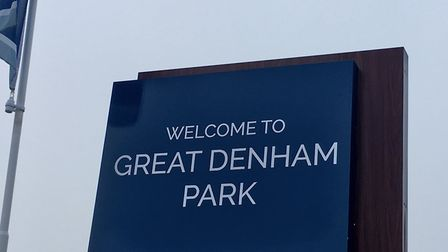 Great Denham Country Park, the home of the Great Denham parkrun, on the outskirts of Bedford