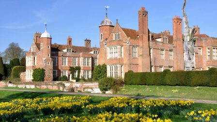 Kentwell Hall in Long Melford Piicture: KENTWELL HALL