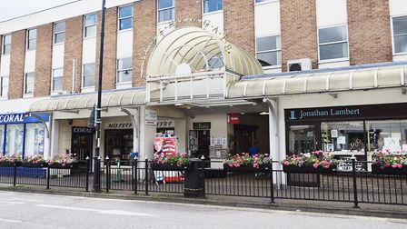 Borehamgate shopping centre in Sudbury, which is owned by Babergh District Council Picture: ARCHANT
