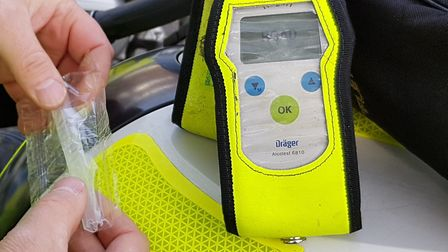 Darren Enright failed a breath test at the side of the road in Newmarket Picture: RACHEL EDGE