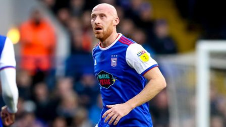 James Collins has sat out the last five games with a hamstring injury. Photo: Steve Waller