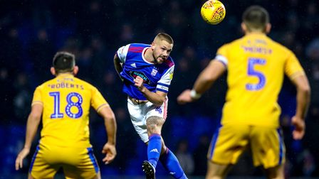 Ipswich Town captain Luke Chambers has been linked to MLS side Chicago Fire. Photo: Steve Waller
