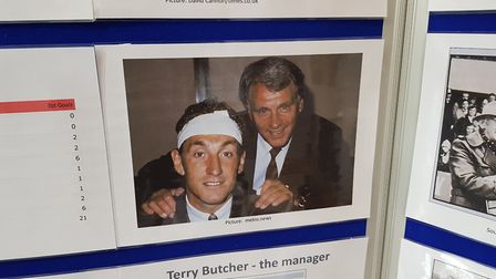 Sporting Memories Suffolk Celebration Event at Quay Place with Terry Butcher. Picture: RACHEL EDG