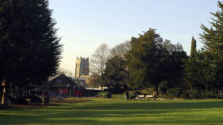 Some Babergh opposition councillors have raised concerns over hotel work impacting on Belle Vue Park