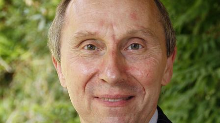 John Ward, Babergh District Council leader, will attend the meeting Picture: PAUL NIXON/BABERGH DIST