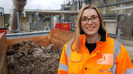 Nicola Harvey from Anglian Water is urging people to reconsider what they flush as wet wipes are cau