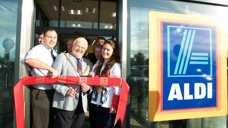 Ipswich Borough Council sold Aldi the land for its new Pinewood store Picture: CONTRIBUTED