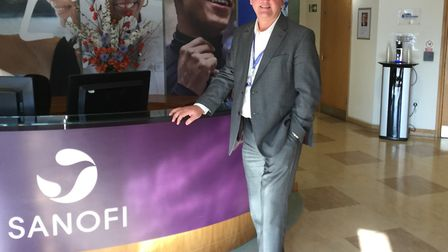 Jim Moretta, site head and general manager at Sanofi Haverhill Picture: CAROLE RAYNER