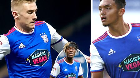 Trevoh Chalobah (inset) is impressed with the standard of young players at Ipswich Town