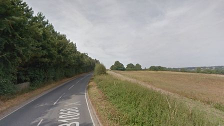 The accident occured on the road connecting the villages of Stoke-by-Nayland and Thorington Street.