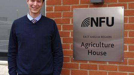 Charles Hesketh, National Farmers' Union Suffolk county adviser Picture: BRIAN FINNERTY