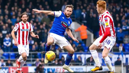 January signing Alan Judge has been in fine form for Ipswich Town at the tip of the midfield diamond