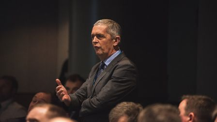 Deputy president Guy Smith speaks at the National Farmers Union 2019 conference Picture: TOBY LEA