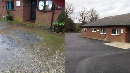 The car park has undergone major changes Picture: JAMES MABERLY